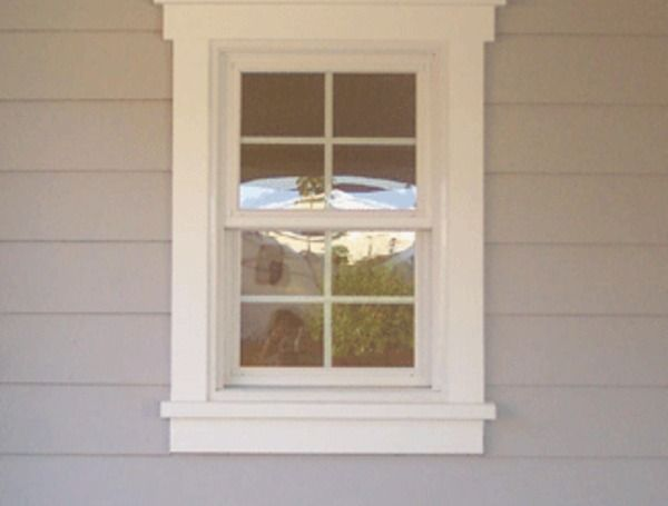 Exterior Window Trim   I Want The Exterior To Have Heft But Not As Busy As  This.