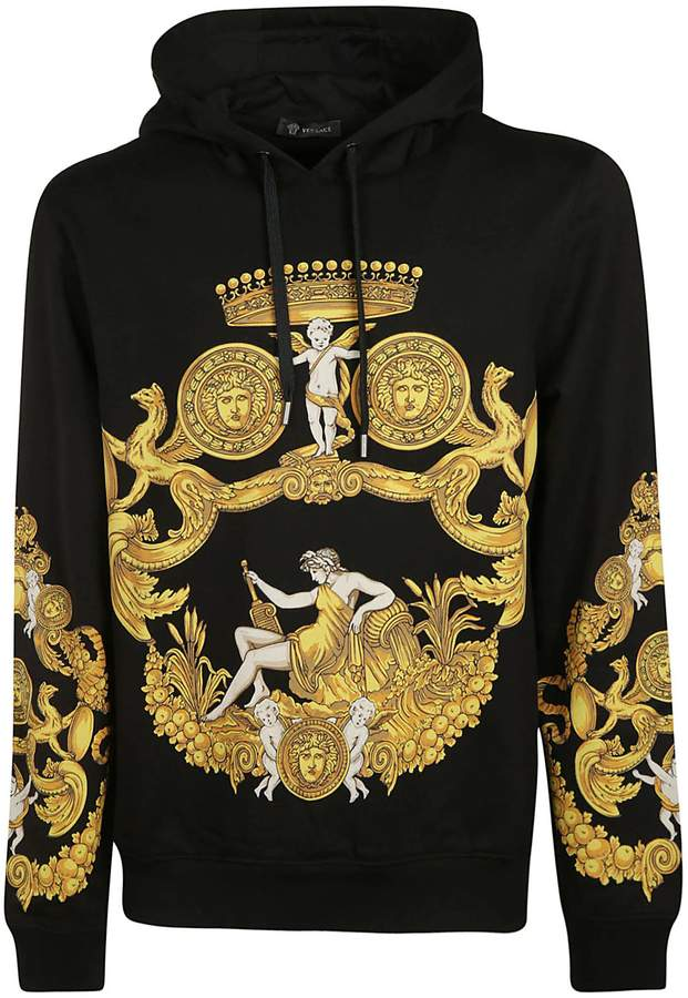 4c92d35447 Versace Baroque Print Hoodie | fashion | Versace hoodie, Versace ...