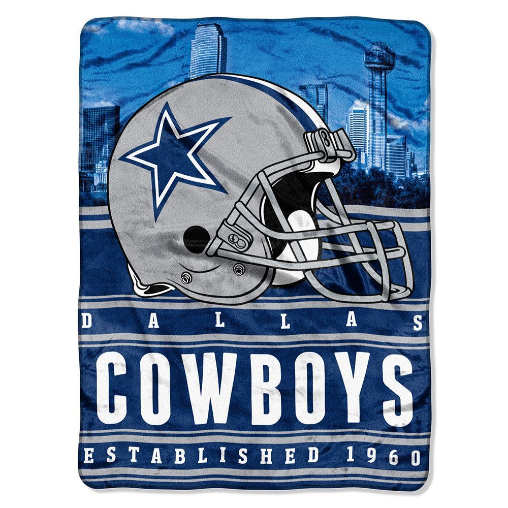 a875ac1b Dallas Cowboys NFL Silk Touch Throw (Stacked Series) (60inx80in ...