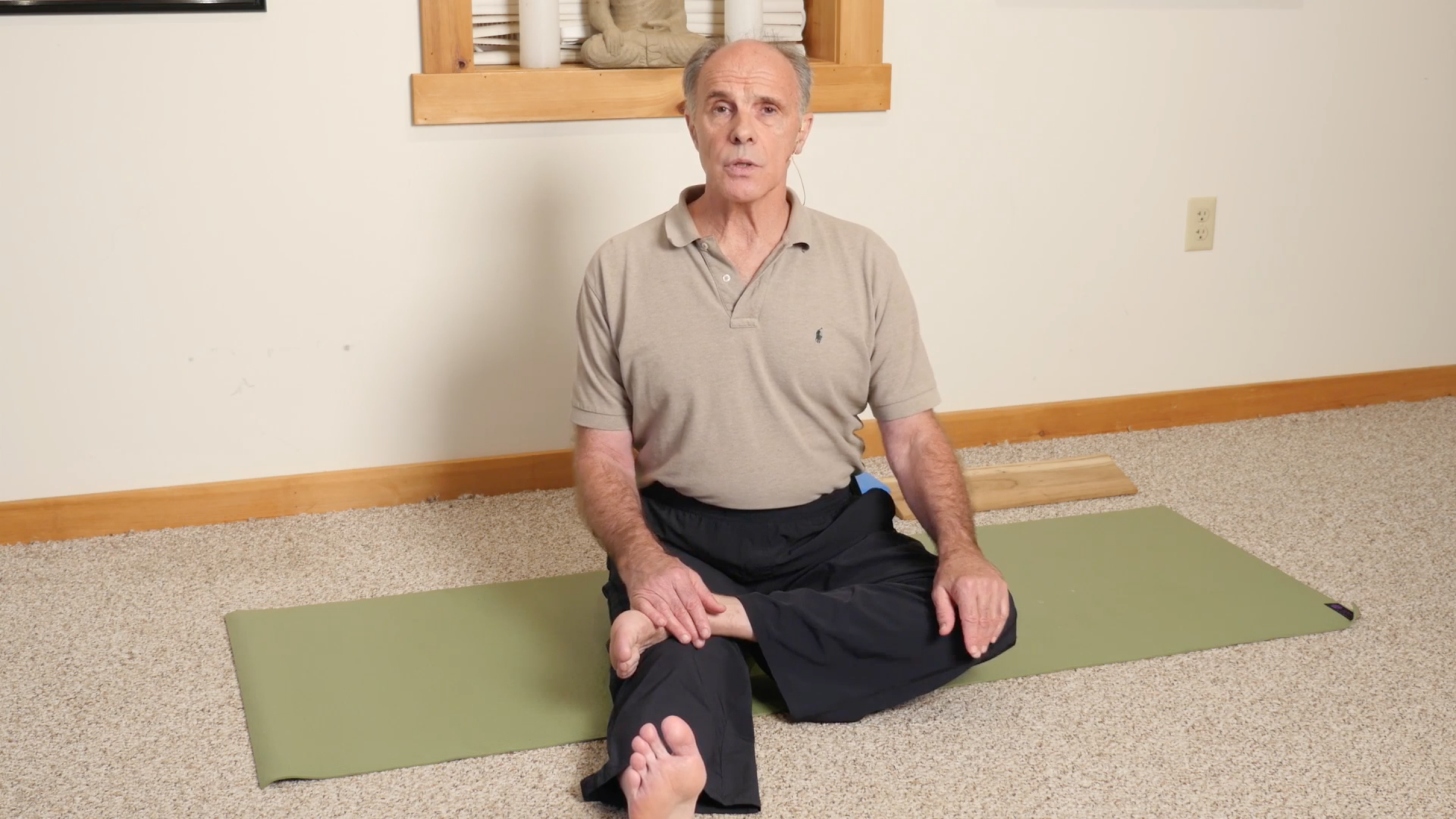 Prepare the hips, knees, and ankles for seated practices. | Yoga ...