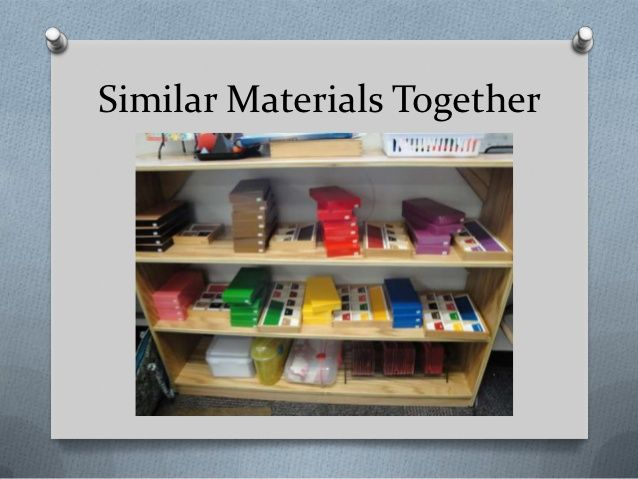 Alicia Smith - Visual Strategies in a Montessori Classroom