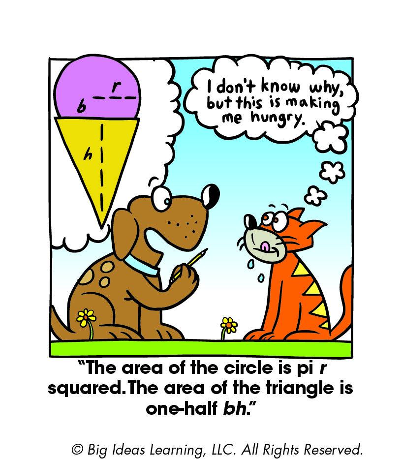 Area of a Composite Figure Math cartoons, Big ideas math