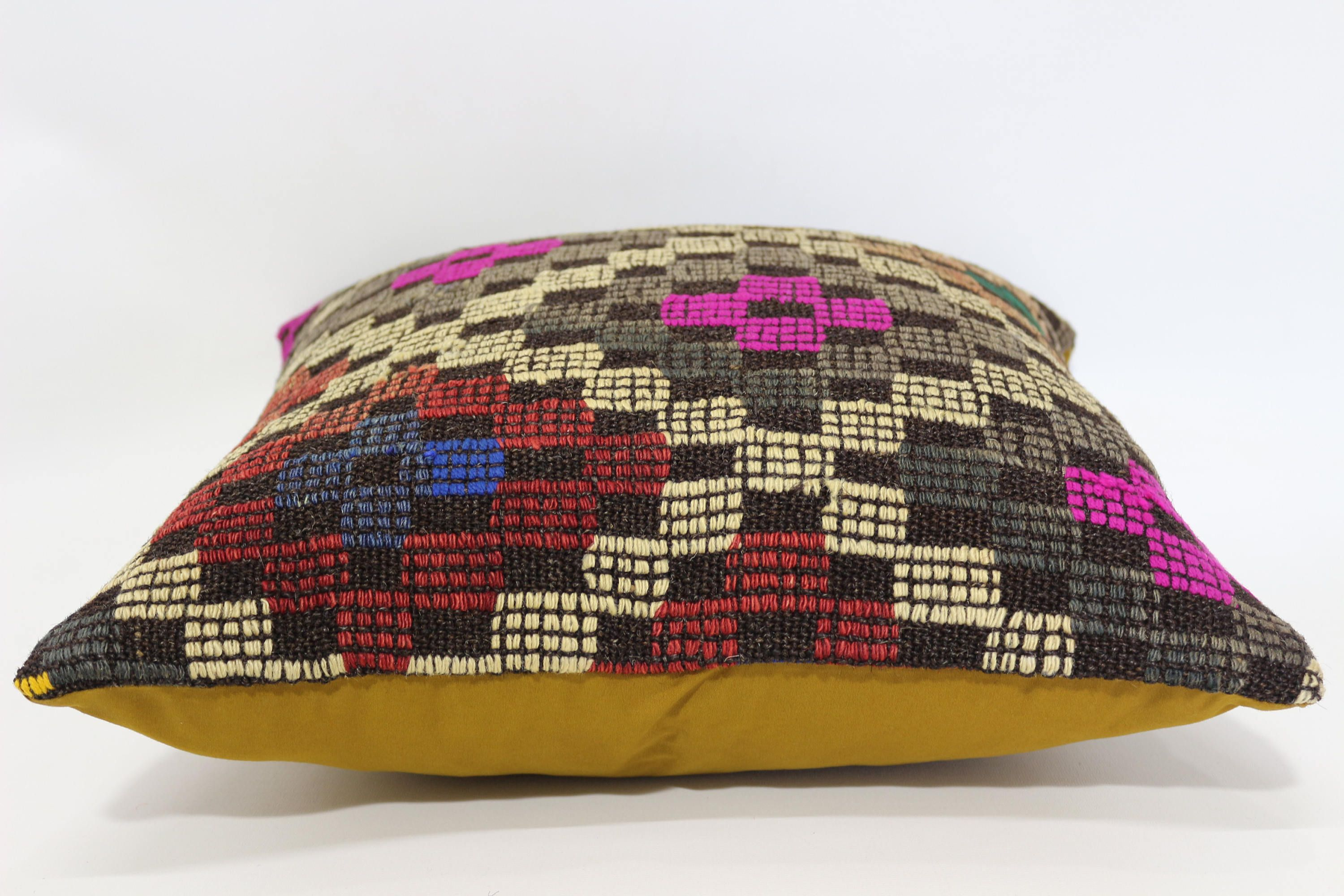pillow kilim antique product patchwork home omero