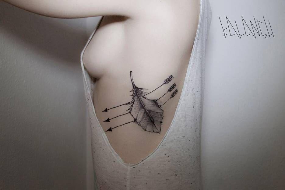 Tähän paikkaan vaan sopii kaunis tatuointi.