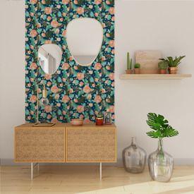 Papier Peint Intisse Crepuscule Tropical By Nymphea S Factory