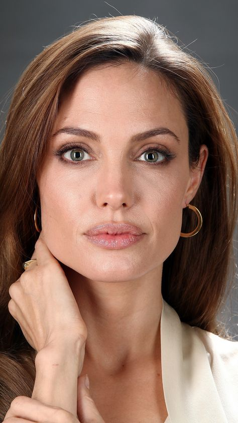 Angelina Jolie. (She will always be one of my heroes.)