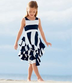 Sailing dress with leggings from Chasing Fireflies