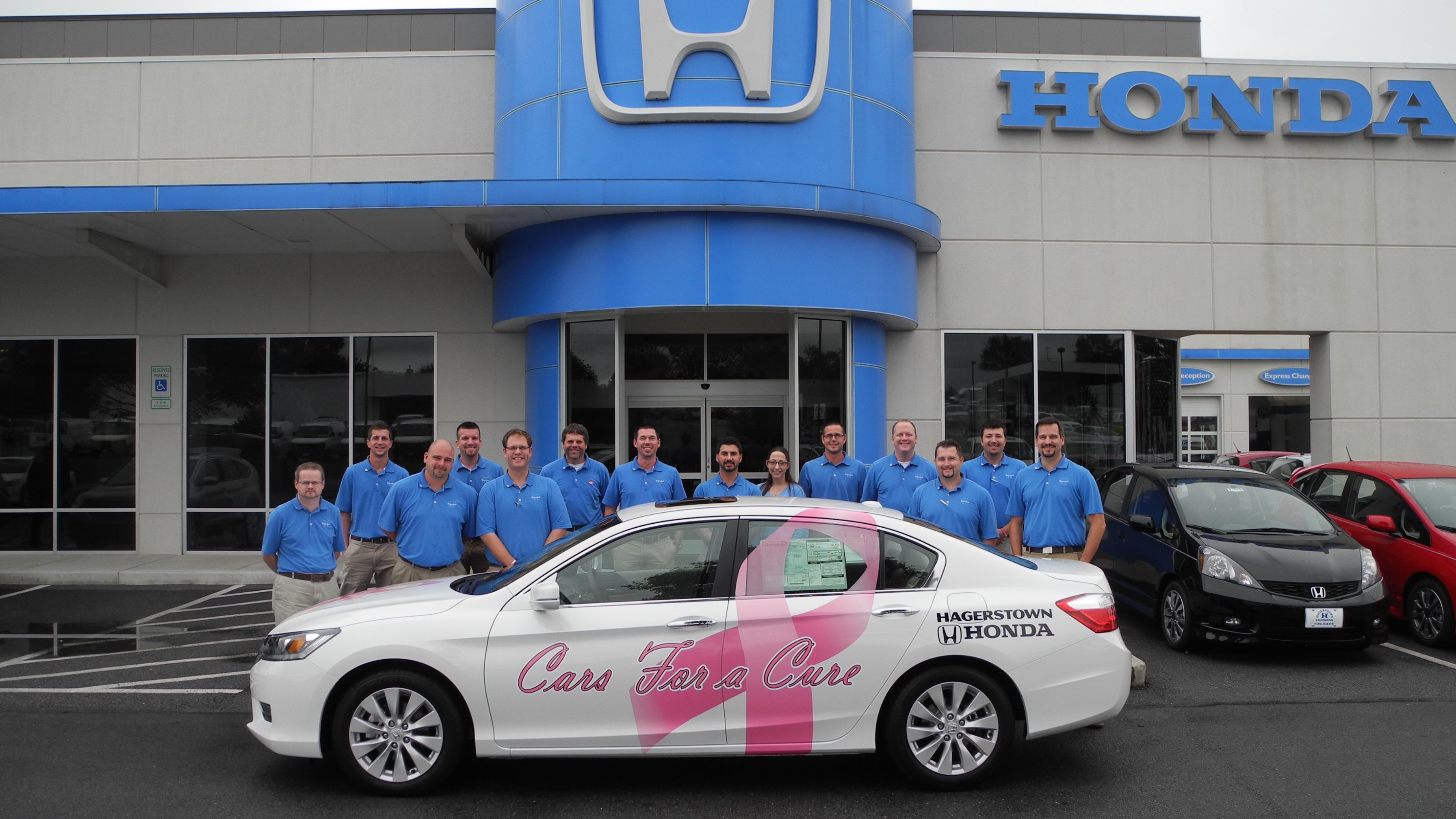 Hagerstown Honda Will Be Dedicating The Month Of October To Helping Raise  Breast Cancer Awareness By