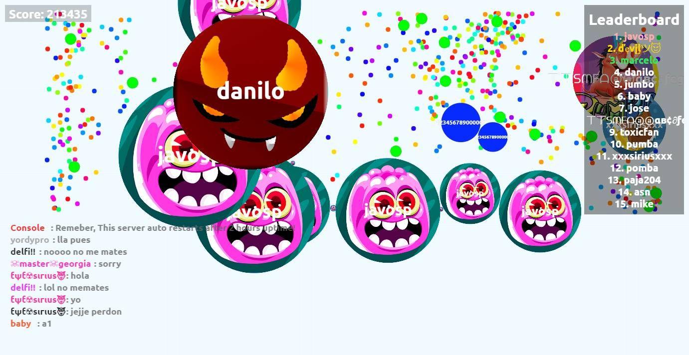 Javosp Play Agario Agarabi Com Together Player Javosp Score