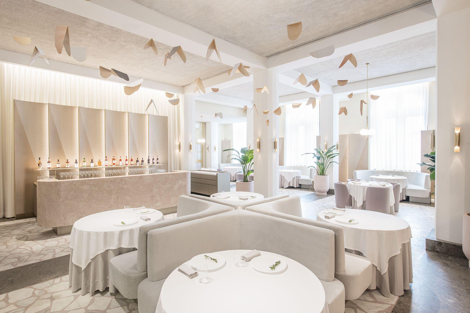Ristorante Odette Singapore | Ristorante interni, Design per ...