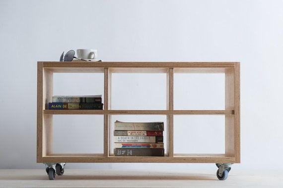 Storage Unit Coffee Table On Wheels Baltic By Bee9designshop Coffee Table With Shelf Coffee Table