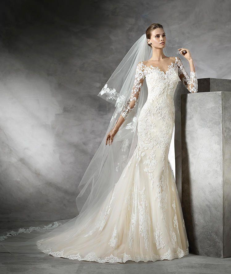 dc77146ea 149 vestidos de noivas lindos 2018 | Casamento | Pinterest | Vestido ...