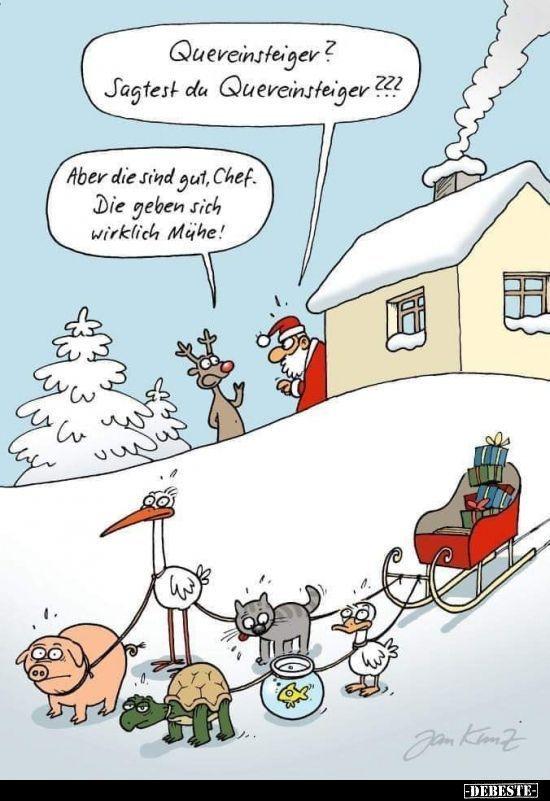 weihnachten comic quereinsteiger sagtest du quereinsteiger