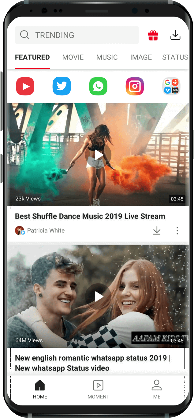 Vidmate App Free Download Youtube Whatsapp Video Official Site Download Free Movies Online Music Download Apps Video Downloader App