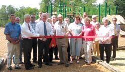 Thankful...Ribbon-cutting ceremony for upgrades at Palisades Park   Blount Countian