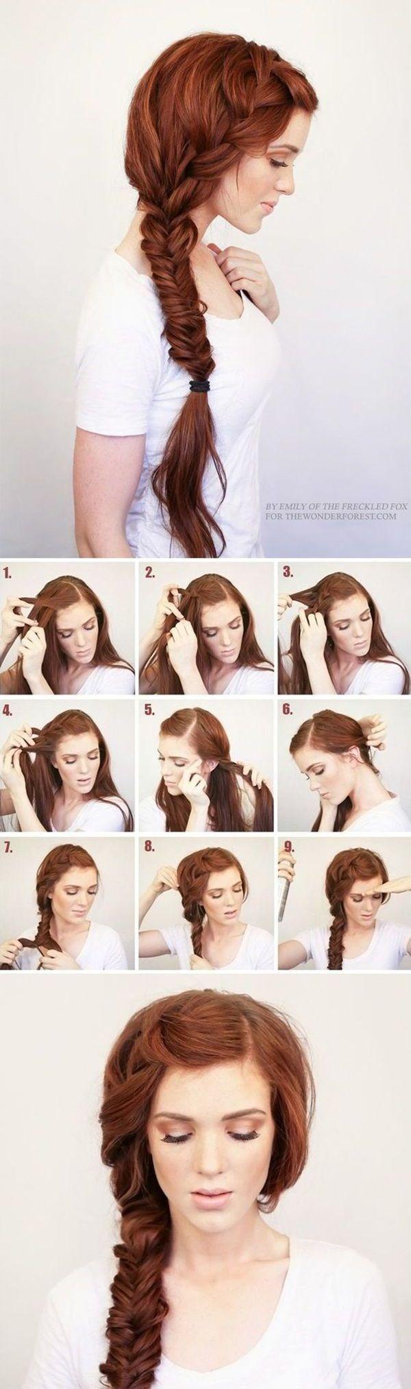 Easy hairstyles for school nail design nail art nail salon