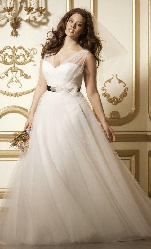 trajes de novias para gorditas - isabella - vestidos de novias en