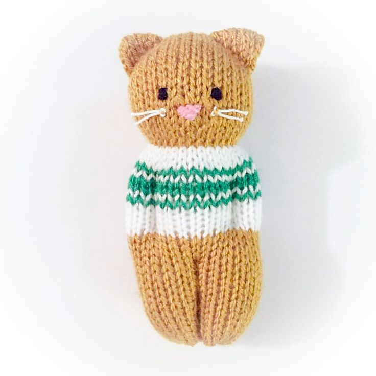 Kitty Friends-Muster von Esther Braithwaite #knittedtoys