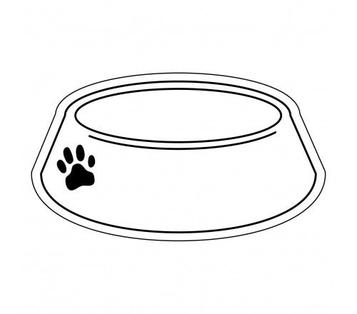 Promotional 2 X 3 5 Dog Bowl Shaped Magnets Full Color Fruit Coloring Pages Printable Coloring Pages Printable Coloring