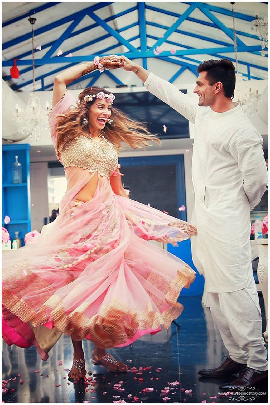 Bipasha Basu in Anushree Reddy | Indian Fashion | Pinterest