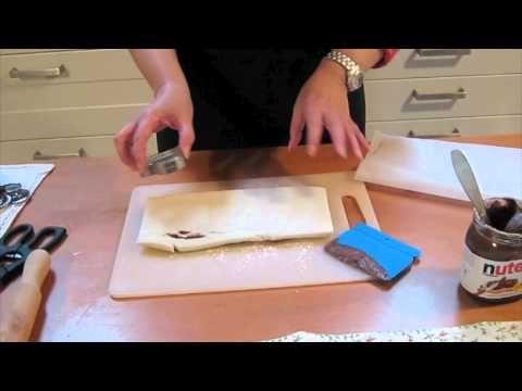Australiano alla nutella - Corsi in cucina - YouTube