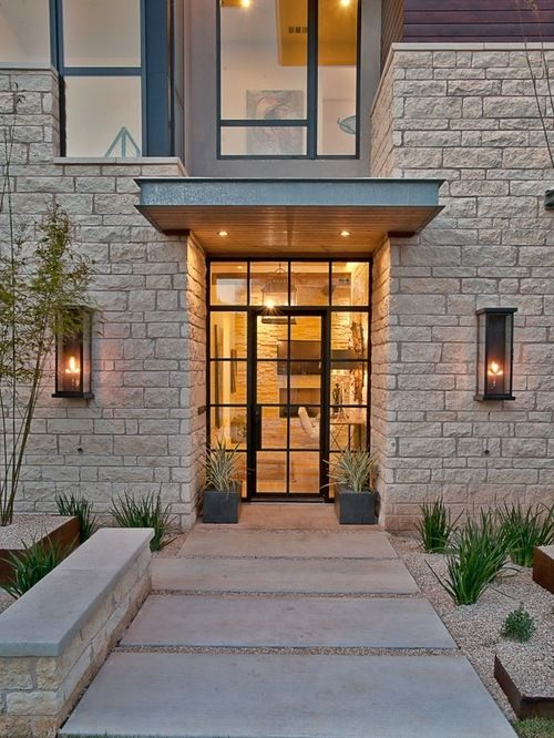 glass and metal front door ideas pictures remodel and decor