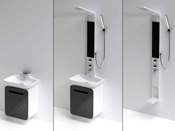 Modular Shower Unit by Hyun-Jung Lee & Su-Yong Son of Daelim B&Co ...