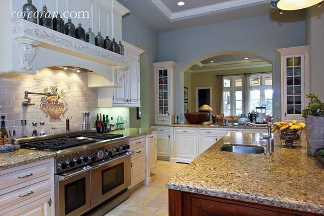 Kitchen splendor. | Renting a house, Casual living rooms ... on Fireplace Casual Living id=59287