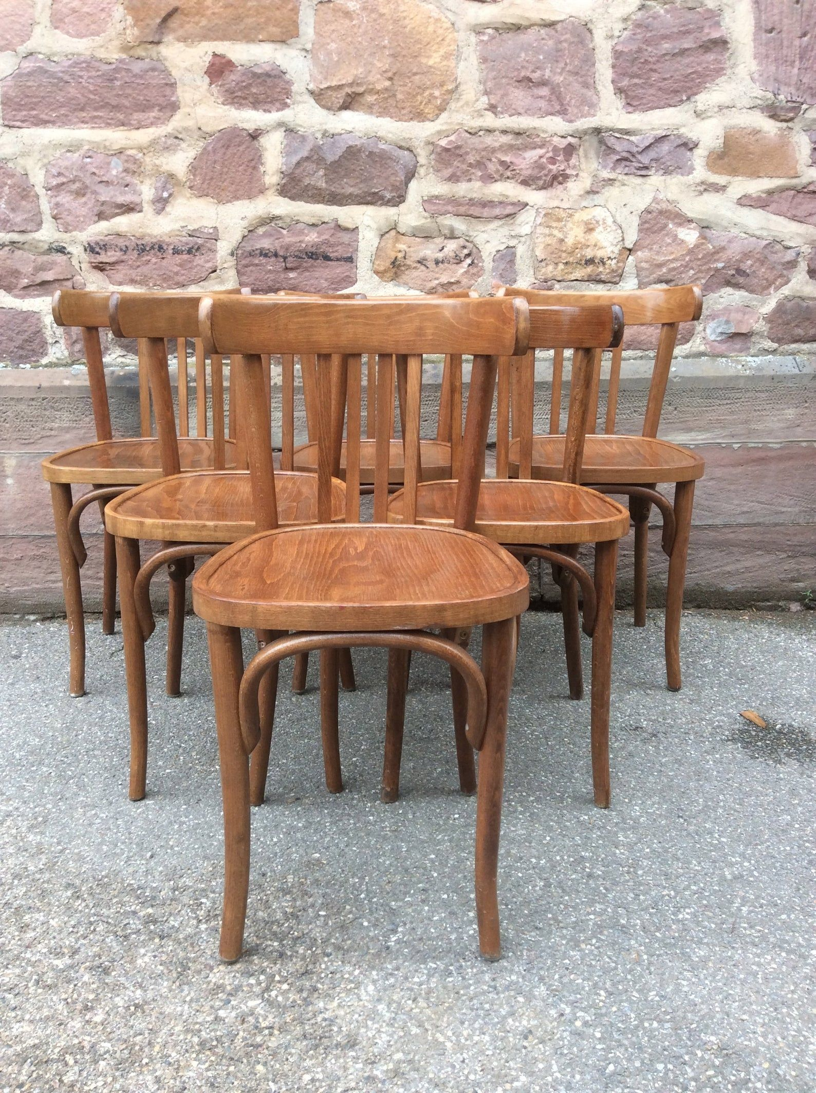 6 Chairs Bistrot Restaurant Vintage French Bistro Chairs Etsy With Images French Bistro Chairs Bistro Chairs Bistro Furniture