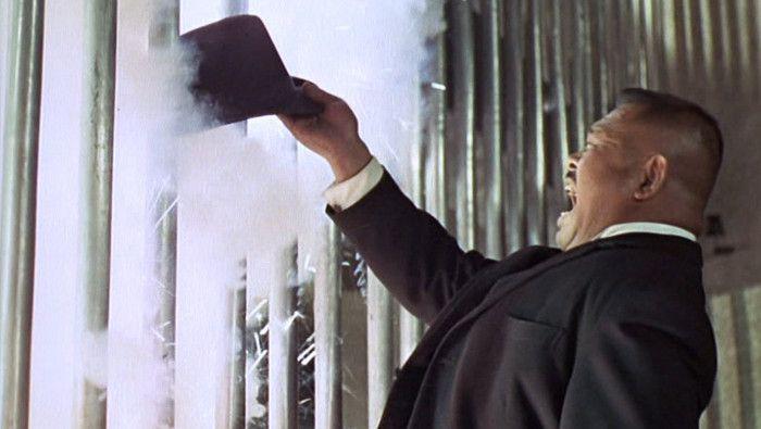 Oddjobs Steel Rimmed Hat - most lethal hat in movie history | James bond  gadgets, James bond, Bond films
