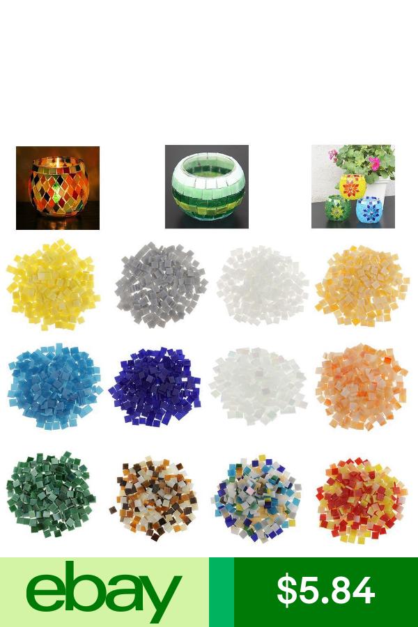 Mosaic Materials Crafts Mosaic Crafts Arts Crafts Supplies Glass Mosaic Art