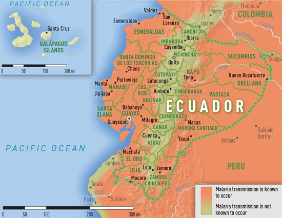 Map 3-27. Malaria transmission areas in Ecuador   Explore ... on map of central america, western central america, cholera central america, yellow fever central america, map of malaria in latin america, polio central america, rivers in central america, malaria map south america, schistosomiasis central america, measles central america, hiv/aids central america, syphilis central america, poverty central america, ebola central america, dengue fever central america, typhus central america, malaria north america, leishmaniasis central america,