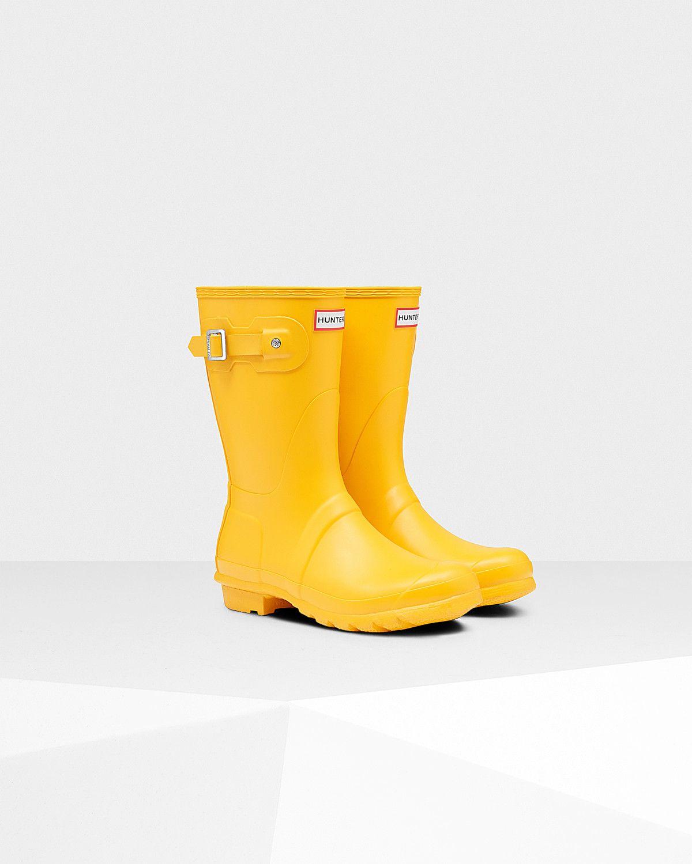 Botas de agua cortas en amarillo de Hunter Original Hunter JPfr4z