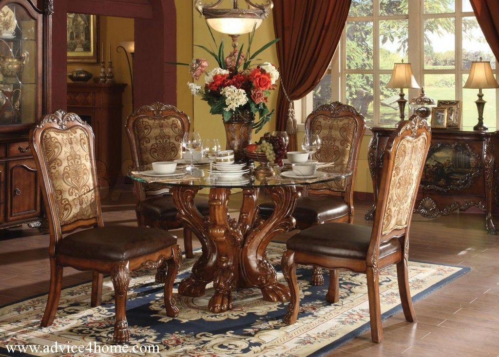 Dresden Traditional Arch Bedroom Set In Cherry Oakacme Adorable Formal Dining Room Set Inspiration Design