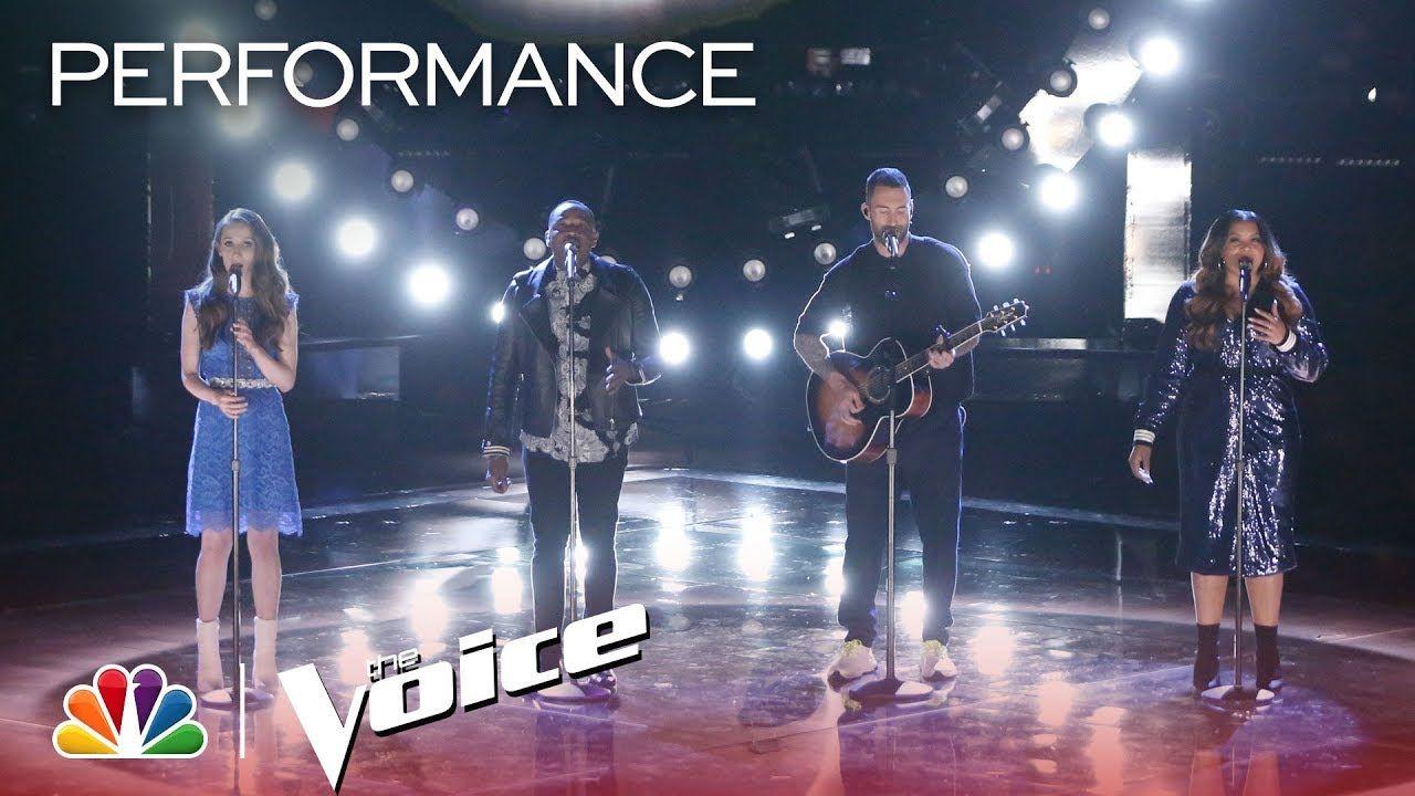 "The Voice 2018 Team Adam ""The Scientist"" The voice"