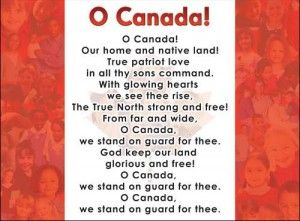 image regarding National Anthem Lyrics Printable referred to as O Canada Canada Countrywide Anthem Lyrics, Online video, Mp3