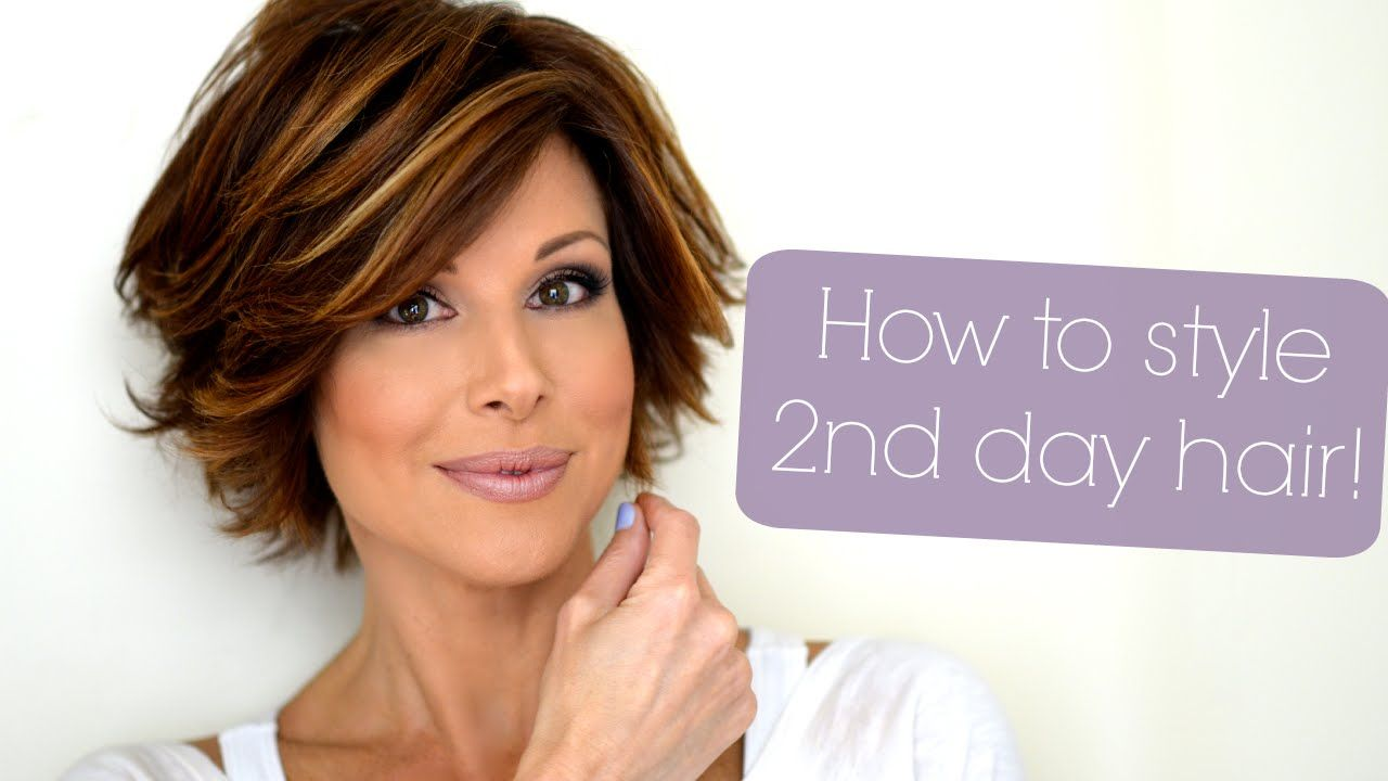 I LOVE her tutorials and her hair...Styling Tips For ...