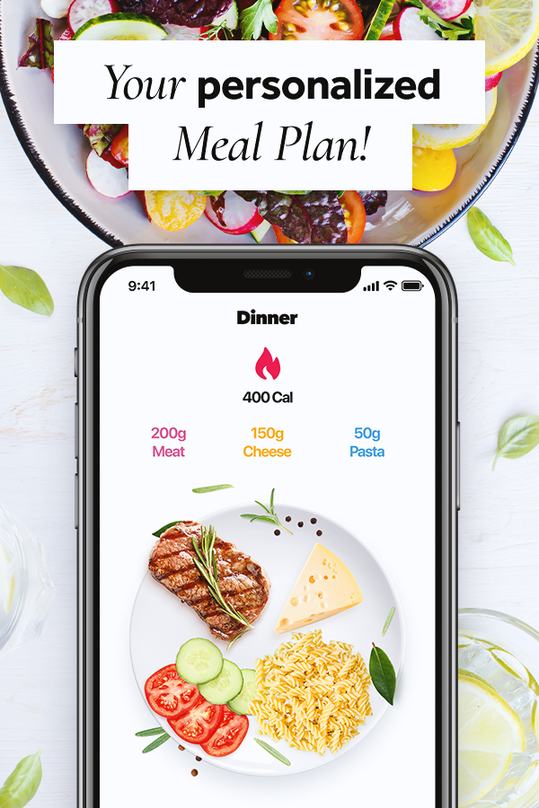 Calorie counter, balanced Meal planner and water tracker