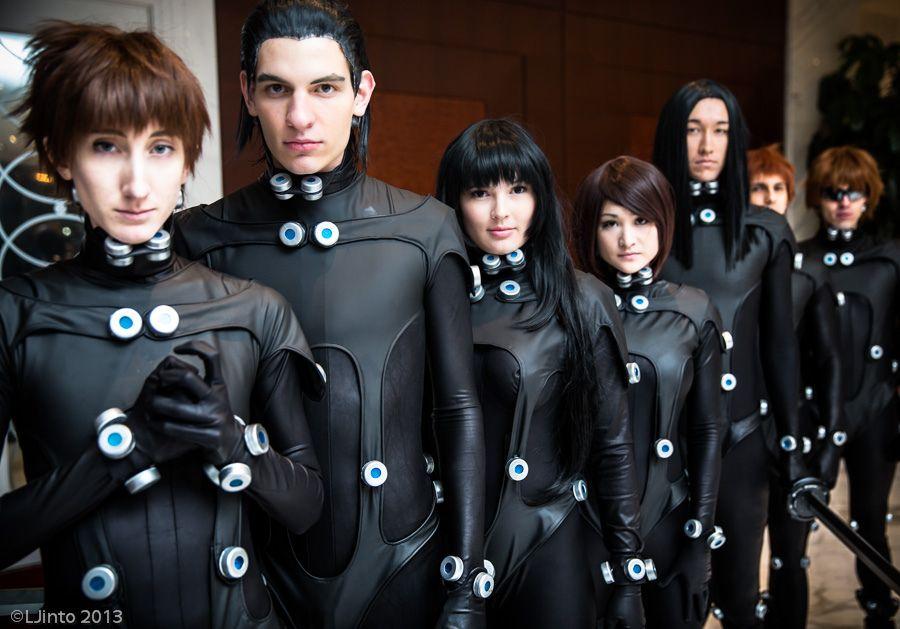 Several characters from Gantz #gantz #cosplay
