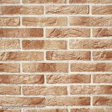 Opiniones sobre papel pintado imitaci n ladrillo casa nueva jose pinterest ladrillo - Papel pared ladrillo ...