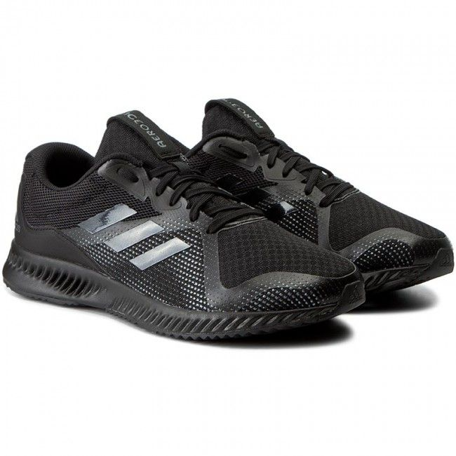 Adidas · Παπούτσια adidas - Aerobounce Racer M BW1561 Cblack/Cblack