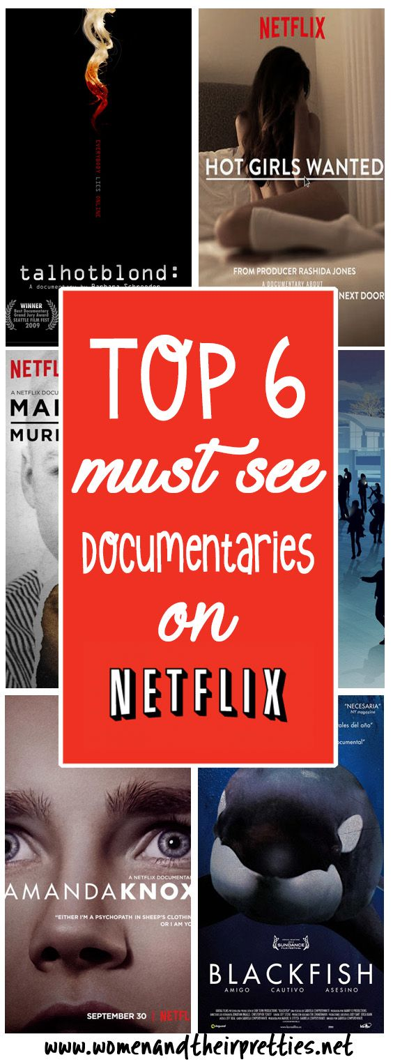 6 must-see documentaries on netflix | great escape | pinterest