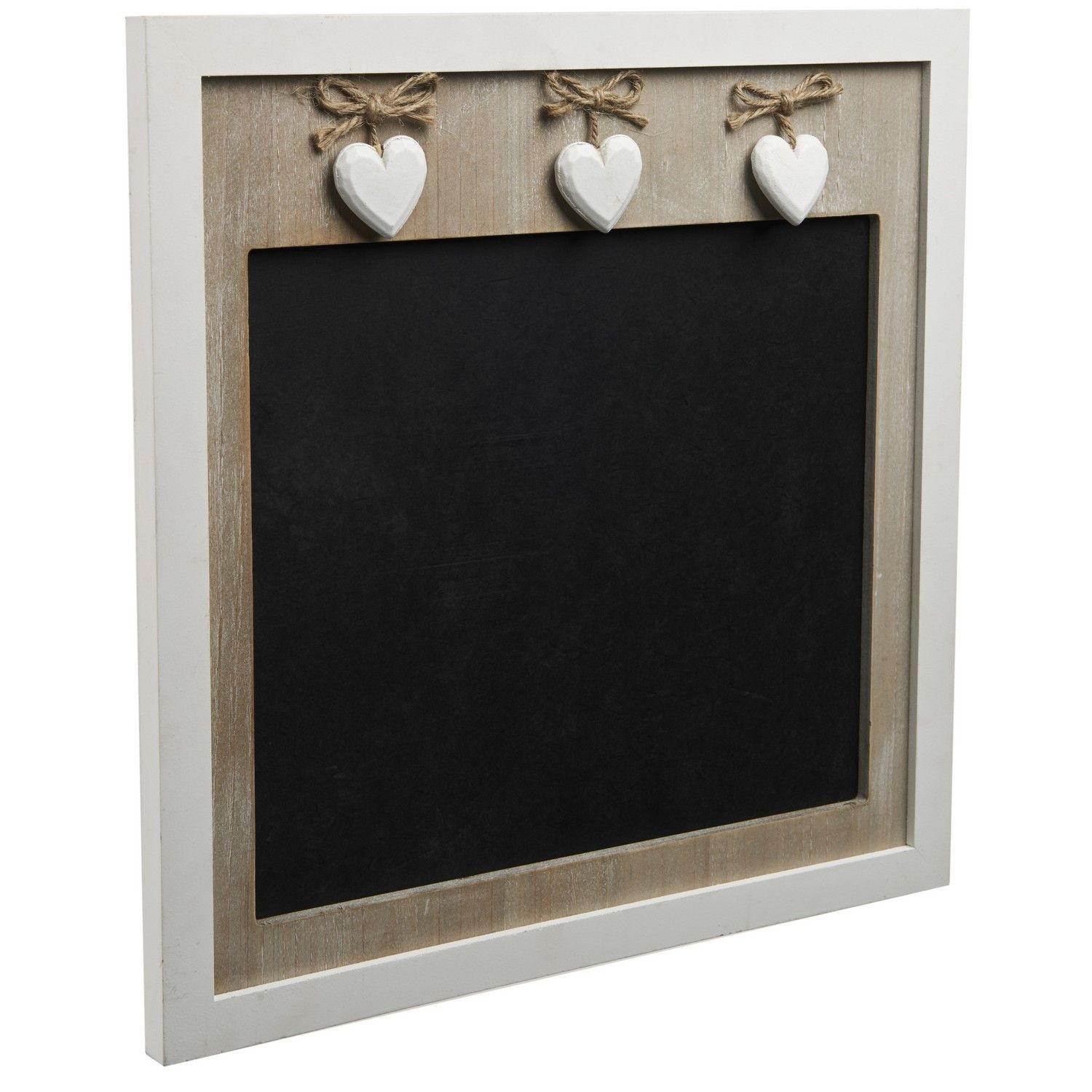 The Hanging Heart Chalkboard Is A Lovely Addition To Any