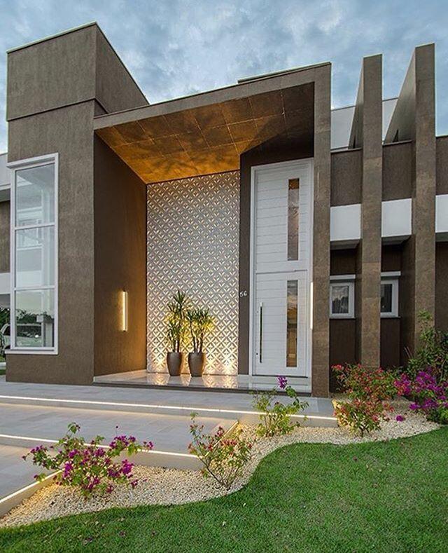 Projeto ann arquitetura foto bohn fotografias for Mejores fachadas de casas modernas