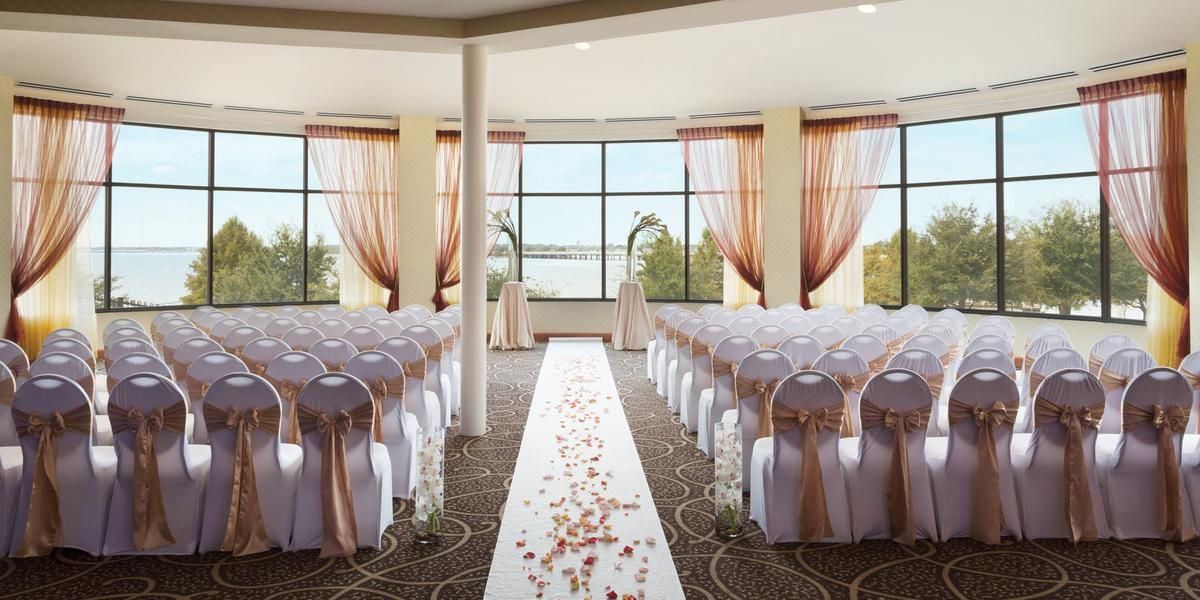 outdoor wedding venues dfw texas%0A Hilton Dallas Rockwall Lakefront Weddings  Price out and compare wedding  costs for wedding ceremony