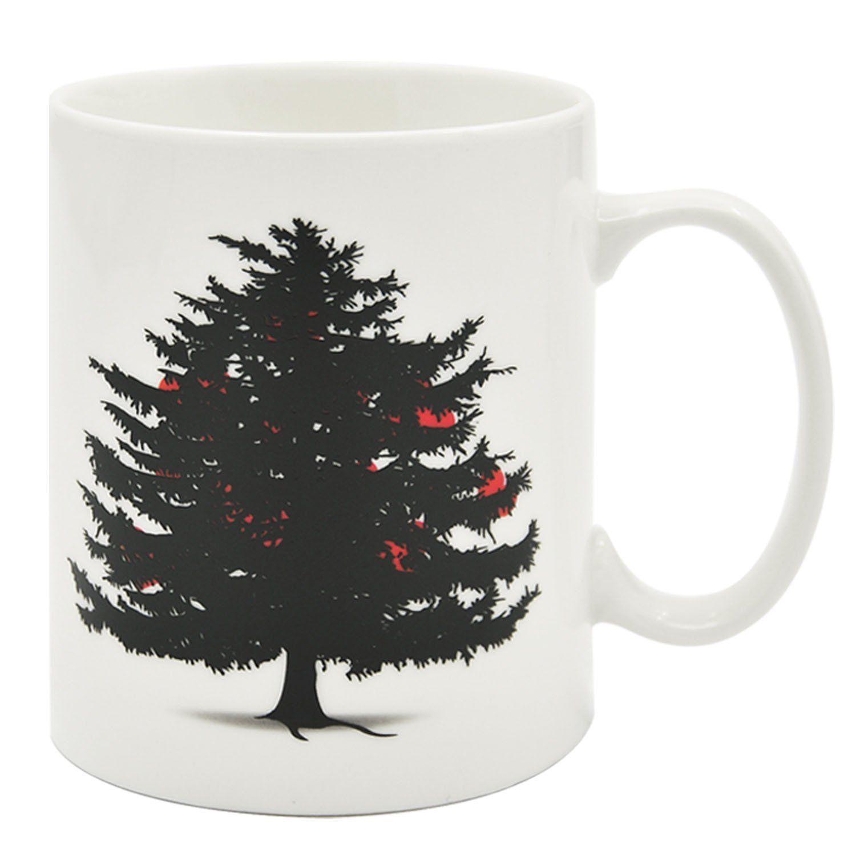 Taza Cerámica Diseño de Árbol de Navidad #tazasceramica Taza Cerámica Diseño de Árbol de Navidad #tazasceramica