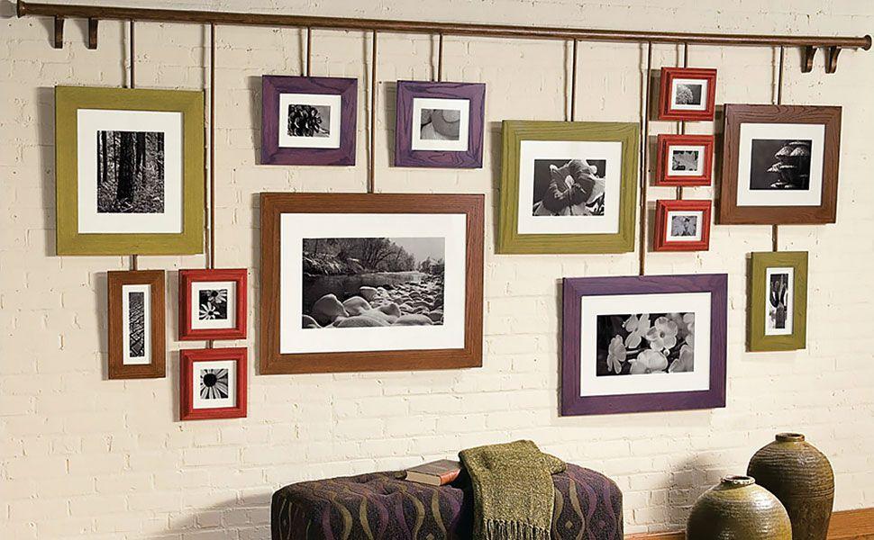 Как повесить картинку на стену