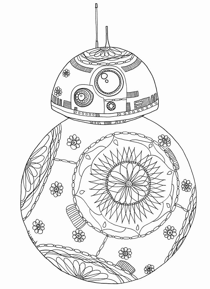 Adult Coloring Pages Star Wars in 2020 | Star wars ...
