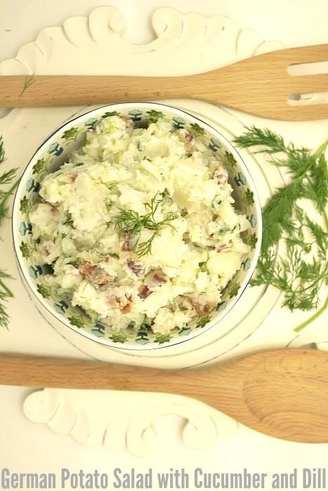 Low fat, low calorie and full flavored, Sour Cream Dill Cucumber Salad is the perfect, healthy summer recipe.