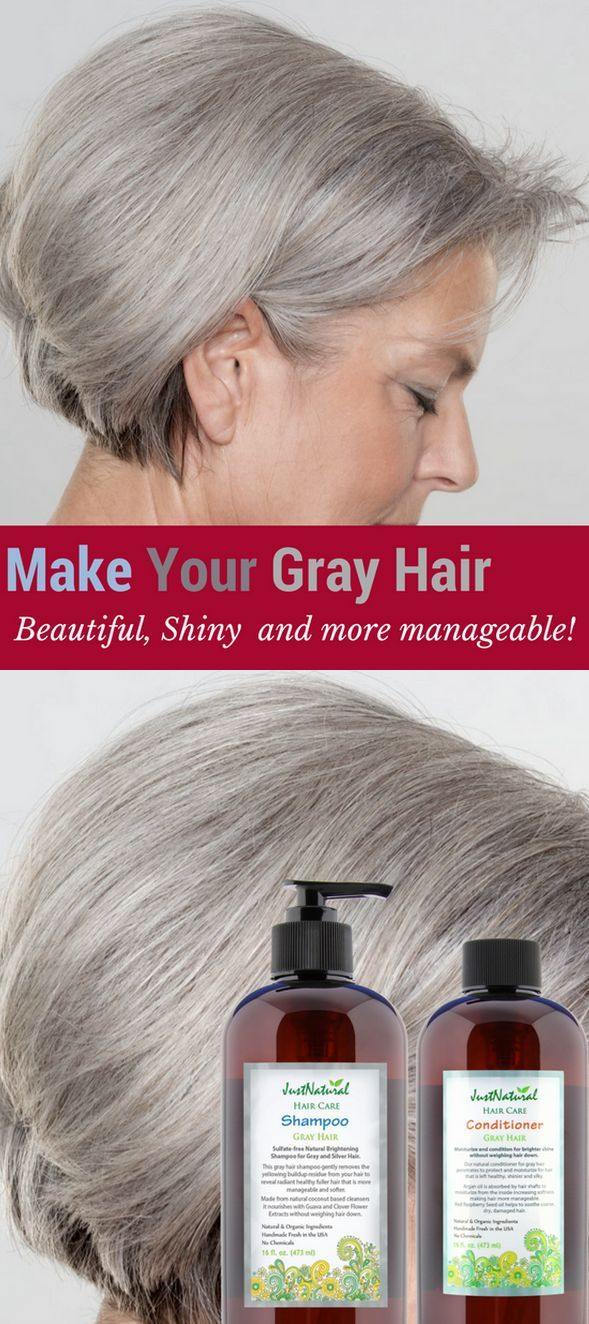 Sulfate Free Brightening Shampoo For Gray And Silver Hair Silver
